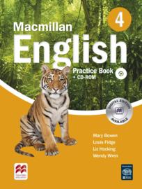 Macmillan English Level 4 Practice Book & CD-ROM Pack