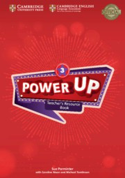 Power Up Level3 Teacher's Resource Book with Online Audio