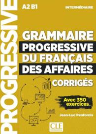 Corriges Grammaire Progressive Du Francais Des Affaires Niveau Intermediaire Nc