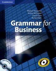 Grammar for Business Book with Audio CD