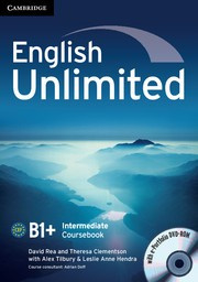 English Unlimited Intermediate Coursebook with ePortfolio