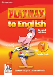 Playway to English Second edition Level1 Cards Pack
