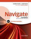 Navigate Pre-intermediate B1 Coursebook, E-book And Oxford Online Skills
