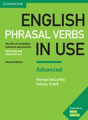 English Phrasal Verbs in Use Advanced Second edition Book with answers