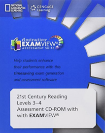 21st Century Reading Level 3 And 4 Assessment Cd-rom With Examview®