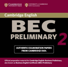 Cambridge BEC 2 Preliminary Audio CD