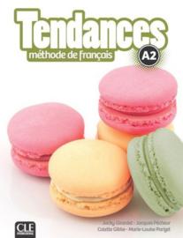 Tendances - Niveau A2 - Livre de lélève + DVD-Rom