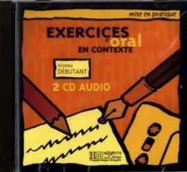 Exercices d'oral en contexte - Niveau débutant
