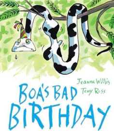 Boa's Bad Birthday (Jeanne Willis) Paperback / softback