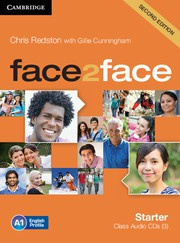 face2face Second edition Starter Class Audio CDs (3)
