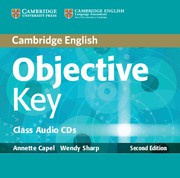 Objective Key Second edition Class Audio CDs (2)