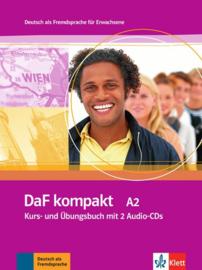 DaF kompakt A2 Studentenboek en Übungsbuch + 2 Audio-CDs