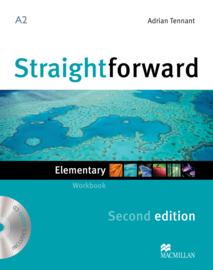 Straightforward 2nd Edition Elementary Level  Workbook & Audio CD without Key