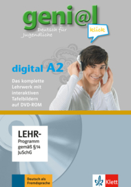 geni@l klick A2 Lehrwerk digital mit interaktiven Tafelbildern