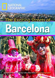 Footprint Reading Library 2600: Exciting Streets Of Barcelona Book With Multi-rom (x1)