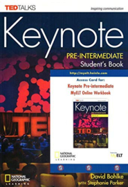 Keynote Pre-intermediate Student's Book + Dvd-rom + Online Workbook