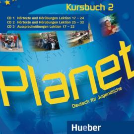Planet 2 3 Audio-CDs bij het Studentenboek