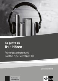 So geht's zu B1 - Hören Lerarenboek