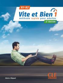 Vite et bien 1 - Niveaux A1/A2 - Livre + CD - 2ème édition