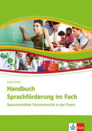 Handbuch Sprachförderung im Fach Buch (2 Broschüren im Schuber)