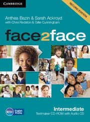 face2face Second edition Intermediate Testmaker CD-ROM and Audio CD