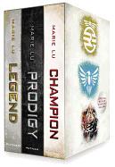 The Legend Trilogy Boxed Set: Legend/Prodigy/Champion [With Life Before Legend] ( Legend )