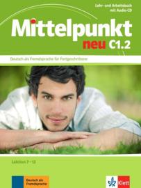 Mittelpunkt neu C1.2 Studentenboek en Werkboek Les 7-12 + Audio-CD bij het Werkboek