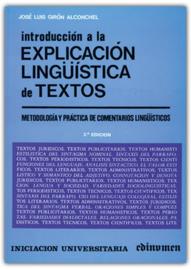 Introducción a la explicación lingüística de textos