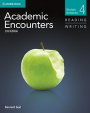 Academic Encounters Second edition Level 4 Student's Book Reading and Writing and Writing Skills Interactive Pack