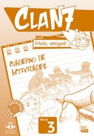 Clan 7 con ¡Hola, amigos! 3 - Cuaderno de actividades