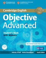 Objective Advanced Fourth edition Student's Book with answers with CD-ROM