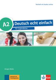 Deutsch echt einfach A2 Testheft met Audio online