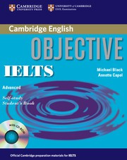 Objective IELTS Advanced Student's Book with answers with CD-ROM