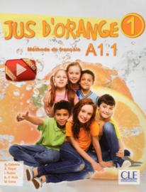 Jus dorange 1 - Niveau A1.1 - Livre + DVD