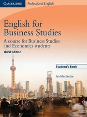 English for Business Studies Third edition Student's Book