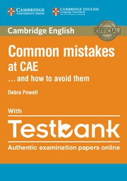 Common Mistakes at CAE... and how to avoid them Paperback with Testbank