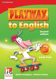 Playway to English Second edition Level3 Cards Pack