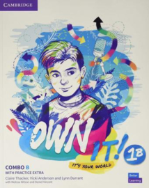 Own it! Level 1 Combo B Student's Book and Workbook with Practice Extra