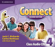 Connect Second edition Level4 Class Audio CDs (3)