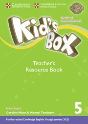 Kid's Box Updated Second edition Level5 Teacher's Resource Book with Online Audio