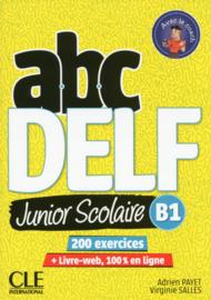 ABC DELF Junior scolaire - Niveau B1 - Livre + DVD + Livre-web - 2ème édition