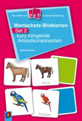 Wortschatz-Bildkarten, Set.2