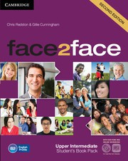 face2face Second edition UpperIntermediate Student's Book with DVD-ROM and Online Workbook Pack