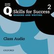 Q: Skills For Success Level 2 Reading & Writing Class Audio Cd (x2)