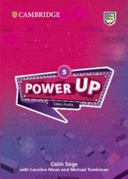 Power Up Level5 Class Audio CDs