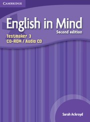 English in Mind Second edition Level3 Testmaker Audio CD/CD-ROM