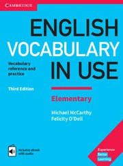 English Vocabulary in Use Elementary Third edition Book with answers and Enhanced ebook