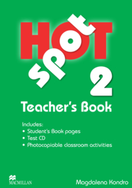 Hot Spot Level 2 Teacher's Book & Test CD