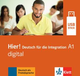 Hier! A1 digital Lehrwerk digital auf USB-Stick