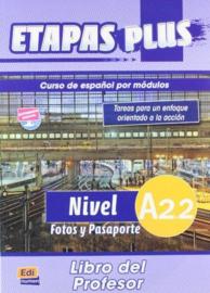 Etapas Plus A2.2. Fotos y Pasaporte - Libro del profesor